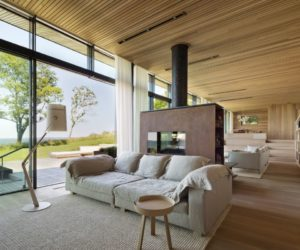 A Stunning Bay House Nestled In A Forest Clearing