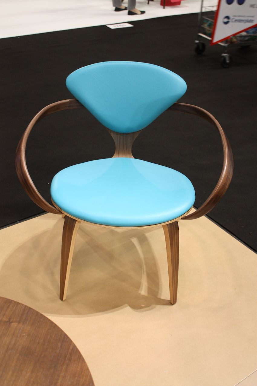 Mid-century designs are always cool, especially in robin's egg blue.