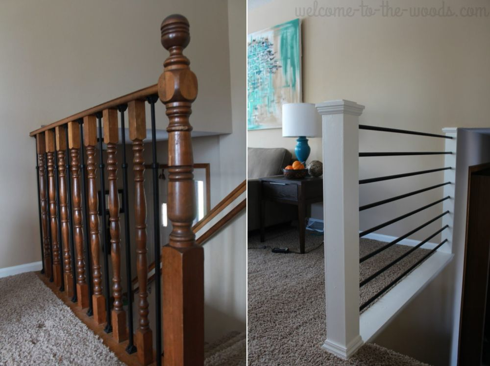 How To Give Your Old Stair Railings A Fresh New Look On A Small Budget
