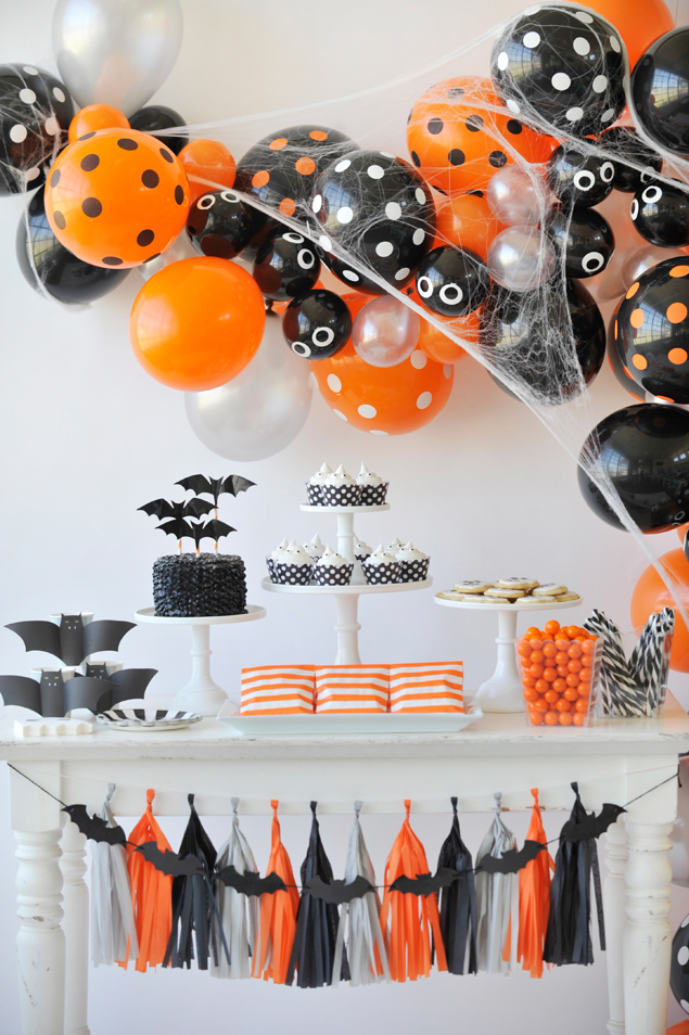 Halloween Party Decorations With Spooky And Cheerful Twists