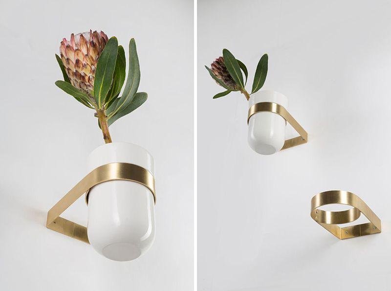 Ceramic planters by Ekaterina Vagurina