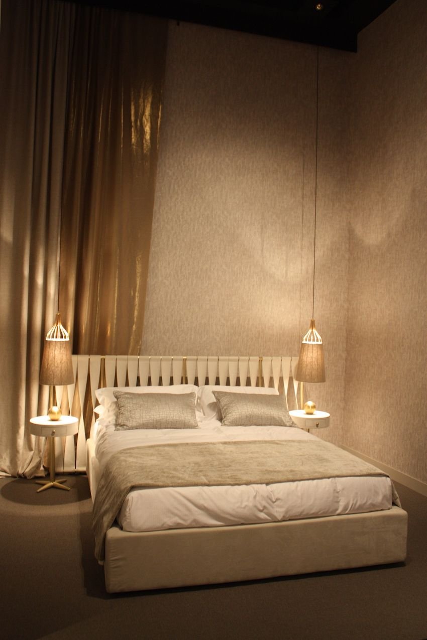 Different types of lighting are necessary in the bedroom.