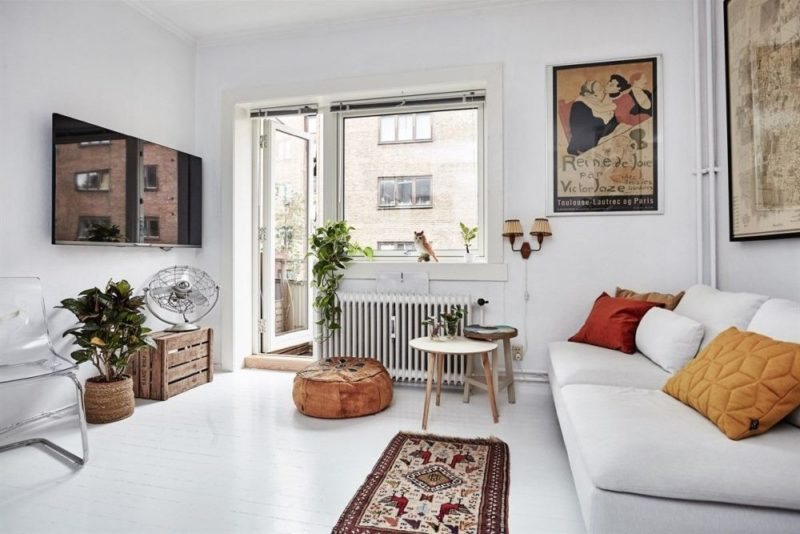 The Successful Recipe Behind Scandinavian Living Room Trend