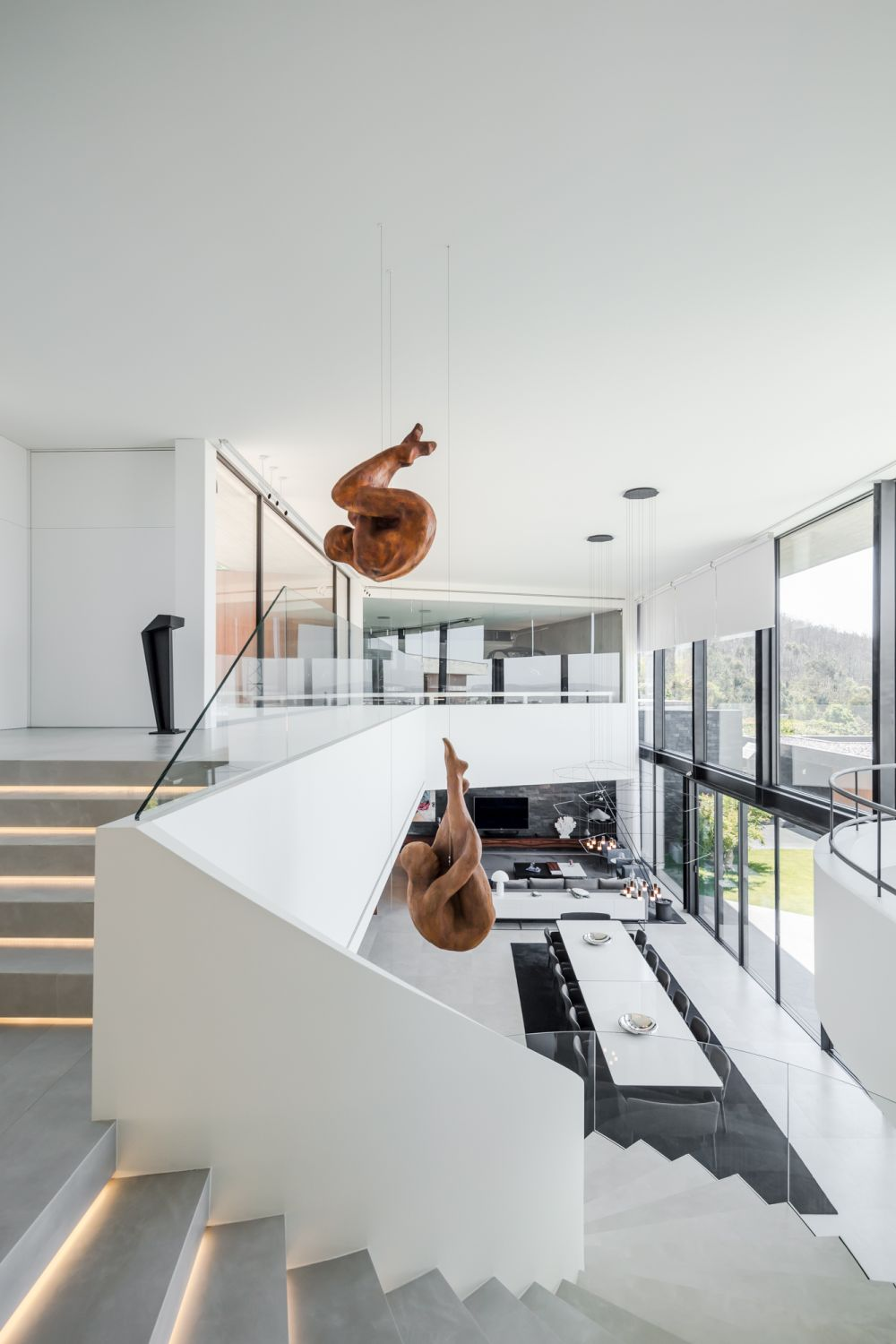 Modern V-Shaped House With The Most Gorgeous Interior Design