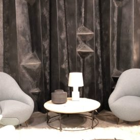 Gray room decor with beautiful chairs