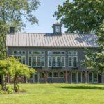 Grey Connecticut Restored 1797 barn house
