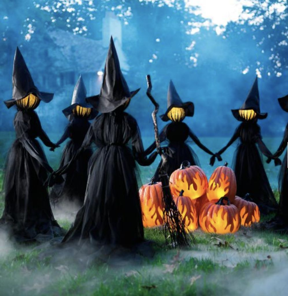 Spooky Outdoor Witches