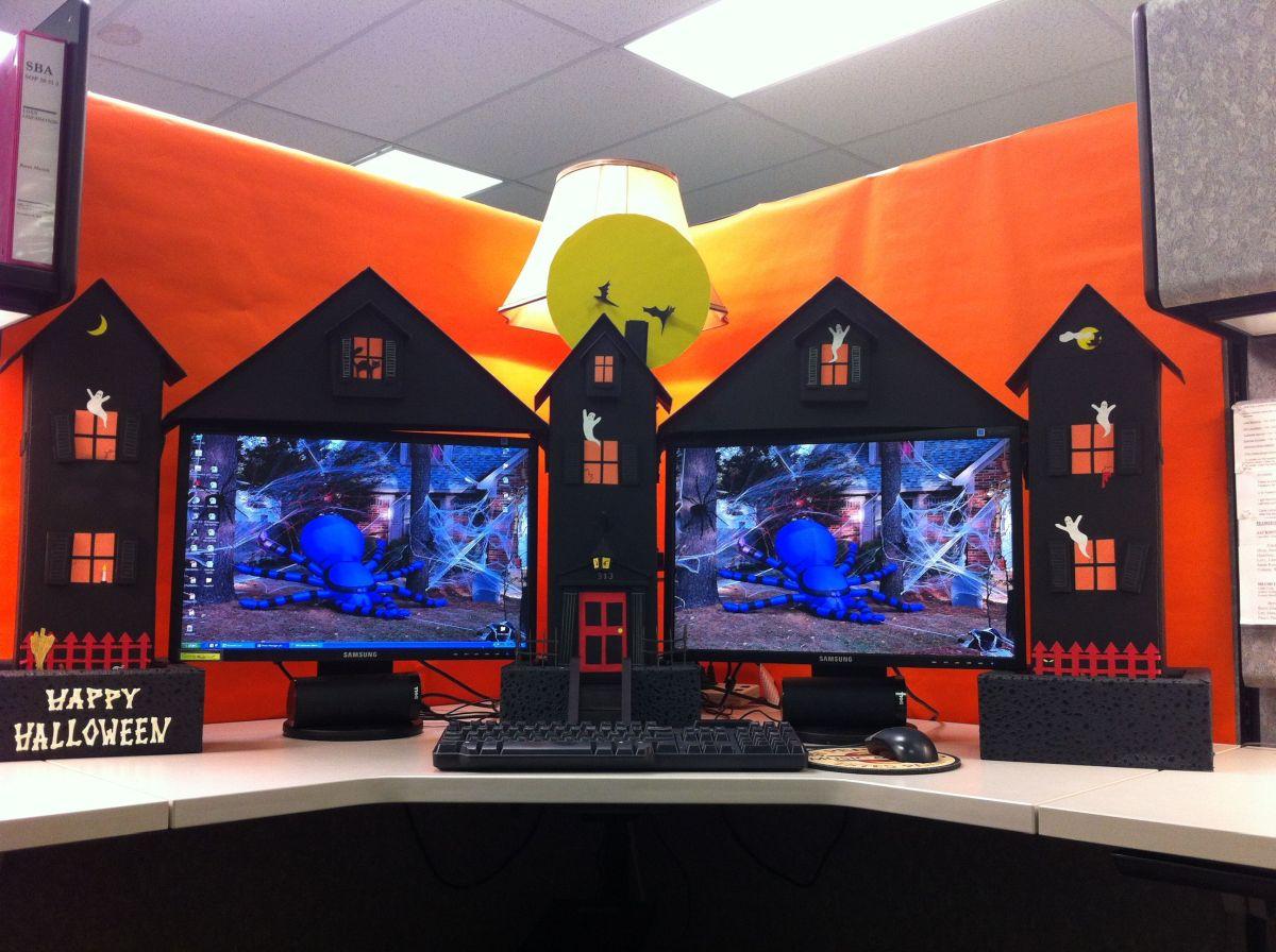 Fun And Spooky Halloween fice Decor Ideas