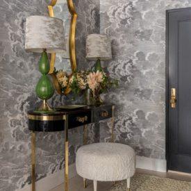 Marks & Frantz Foyer Wallpaper Design