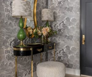 10 Glamorous Ways To Make A Foyer Pop