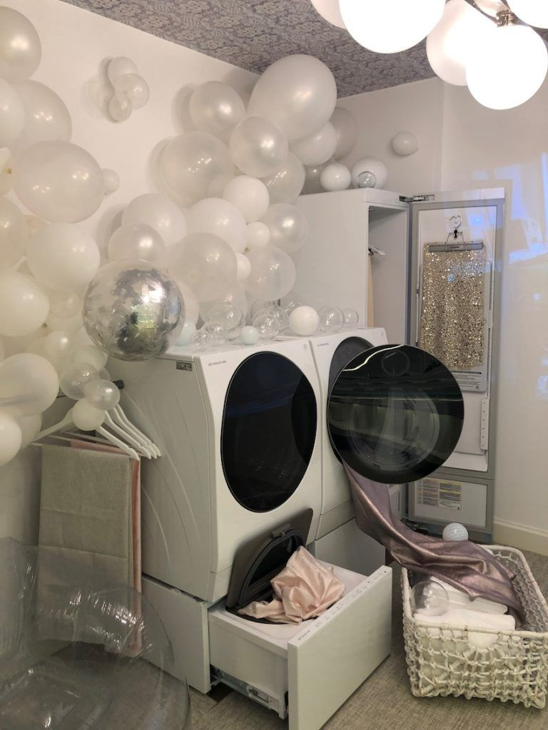 Silverman's space shows that a laundry can be functional and organized as well as a whole lotta fun.