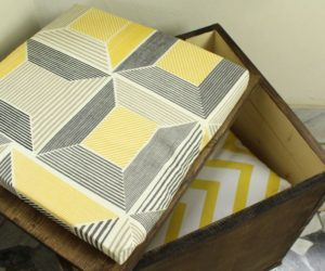 How To Build a Storage Ottoman from Wood