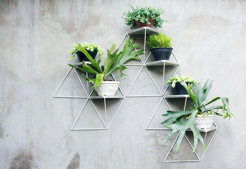 Modular planters by Luisa & Lilian Parrado