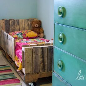 Pallet bed for Toddler