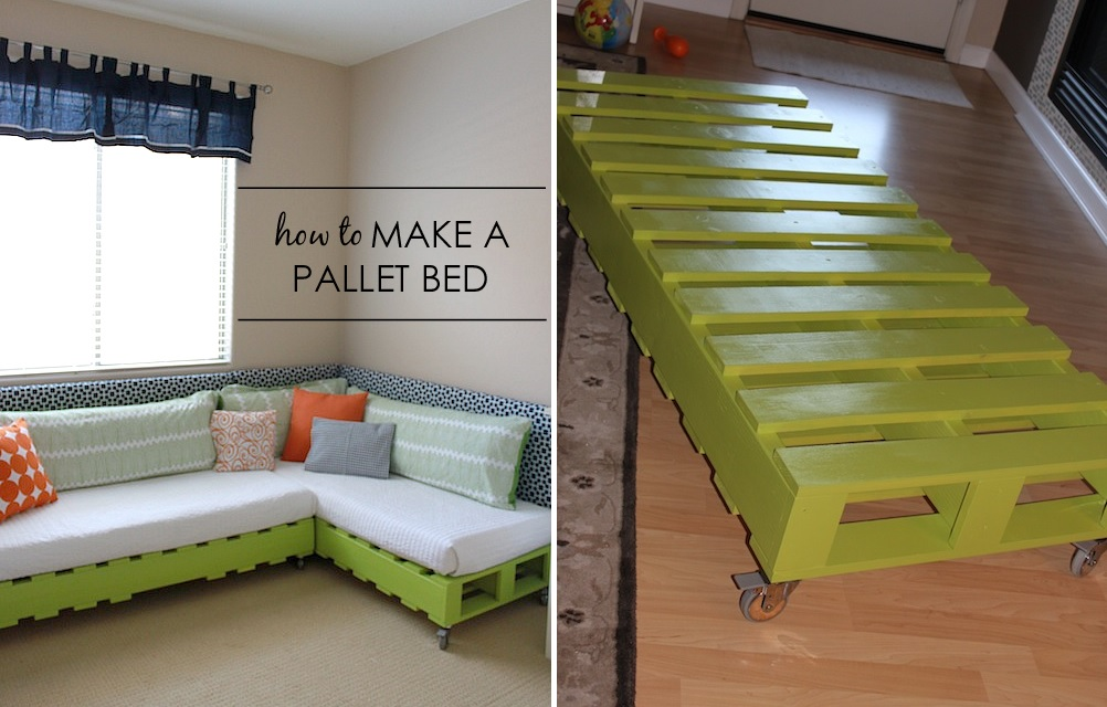 How To Build A Pallet Bed From Scratch
