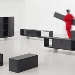 Paul Crofts designs storage system for Isomi made up of modular