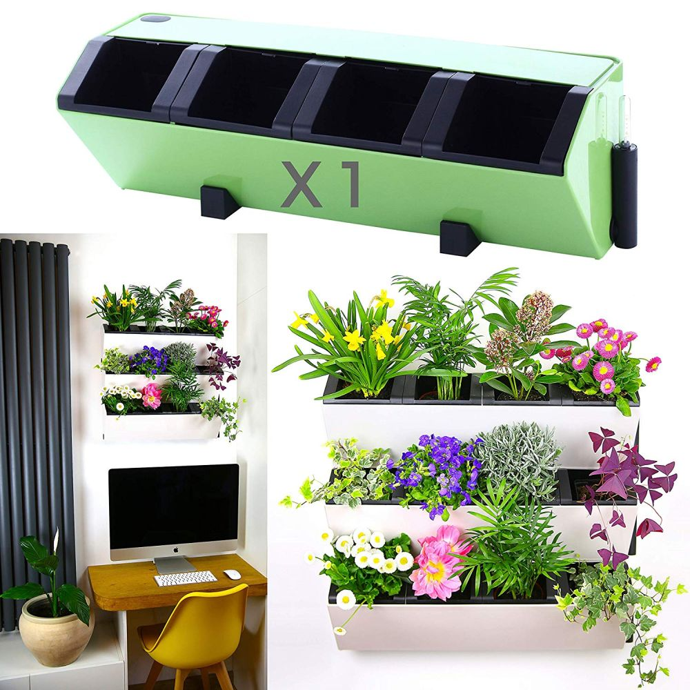 A smart self-watering planter
