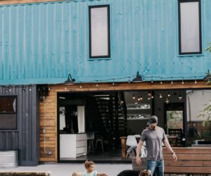 A Multi-Generation Container Home Built From Scratch By Its Owner