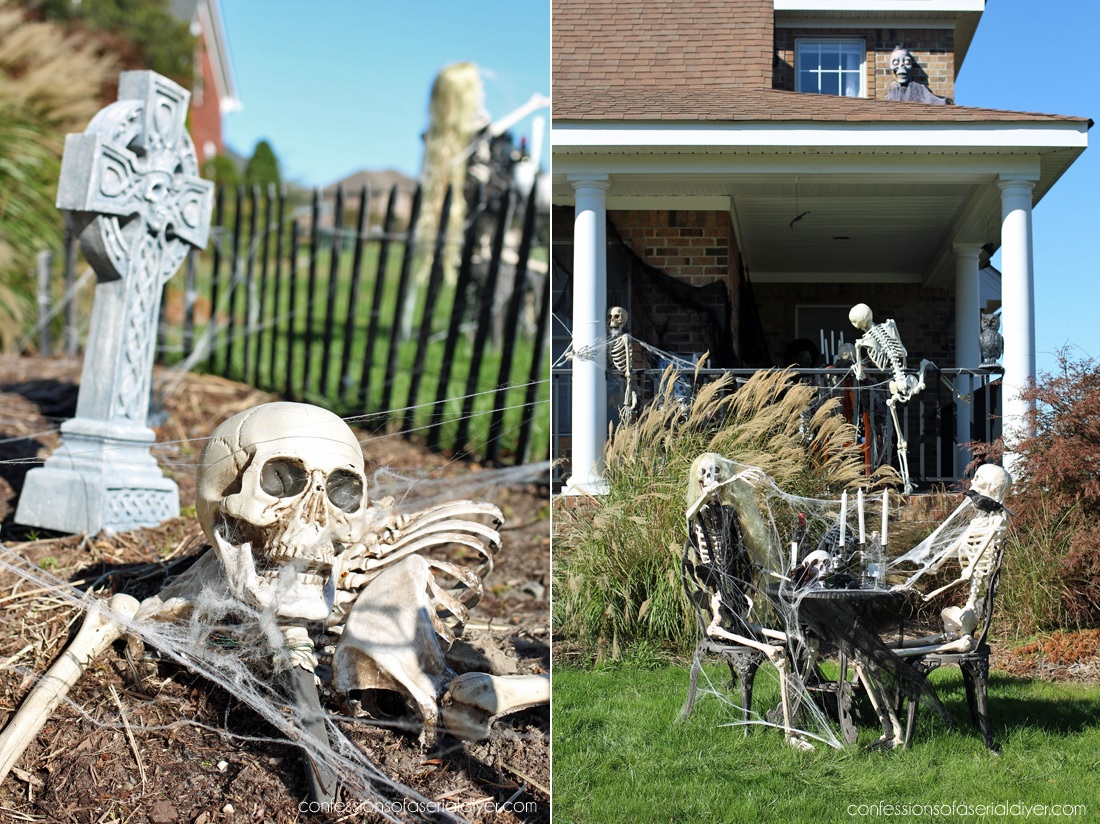 Scary Outdoor Halloween Decorations That Will Make Your