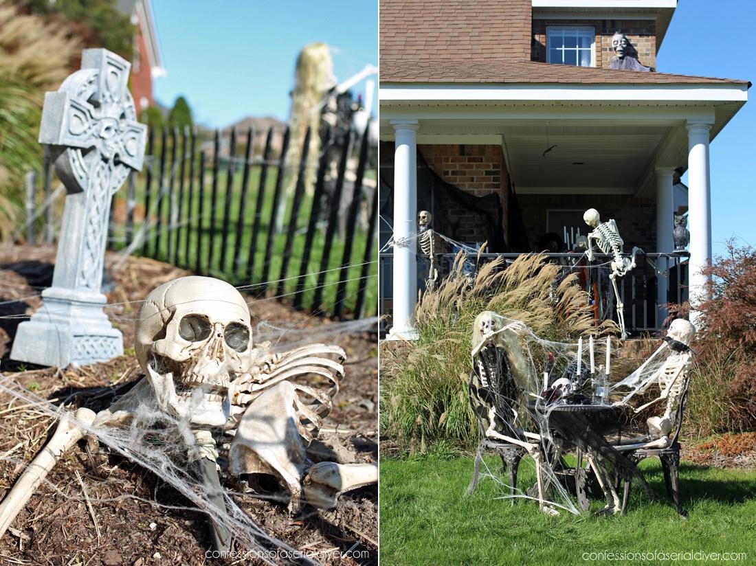 Graveyard Front Yard Decor