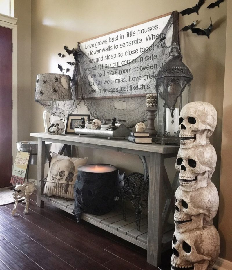 11 Spooktacular Halloween Skull Decor Concept