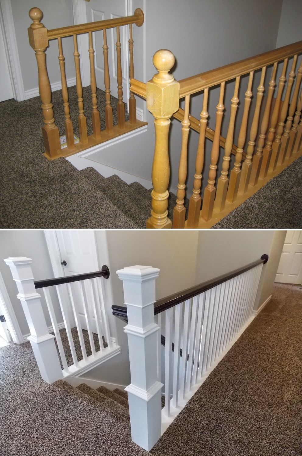 How To Give Your Old Stair Railings A
