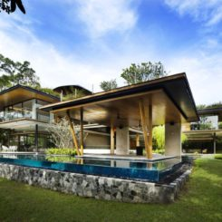 The Ficus House designed by Guz Architects