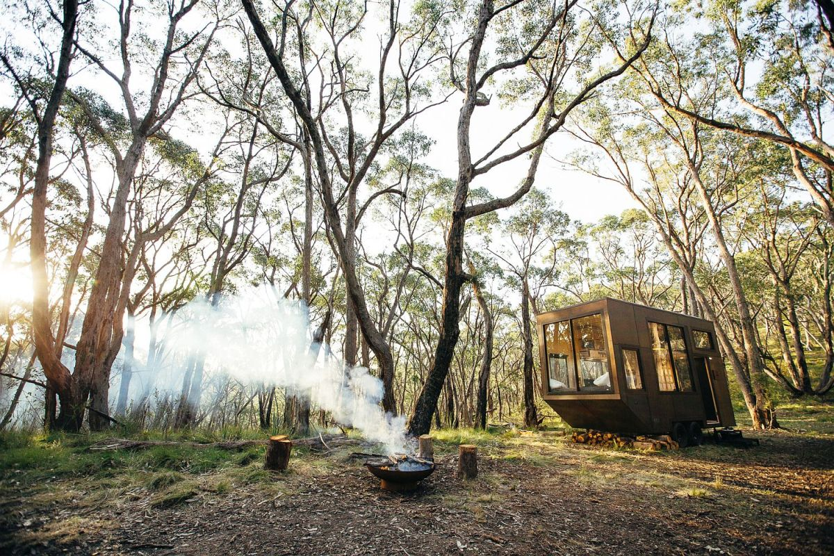 Although compact, the CABN offers everything an individual needs to live completely off-grid for a while