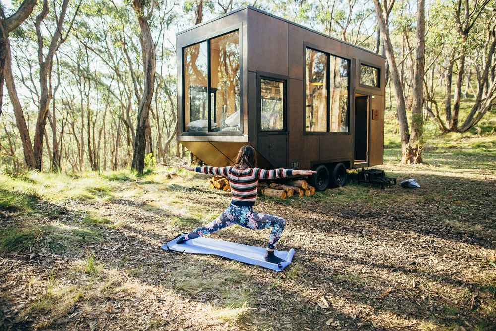 Consider not just the cabin itself but also the immediate surroundings. Everything is meant to be in perfect sync
