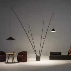 Vibia north floor lamp design
