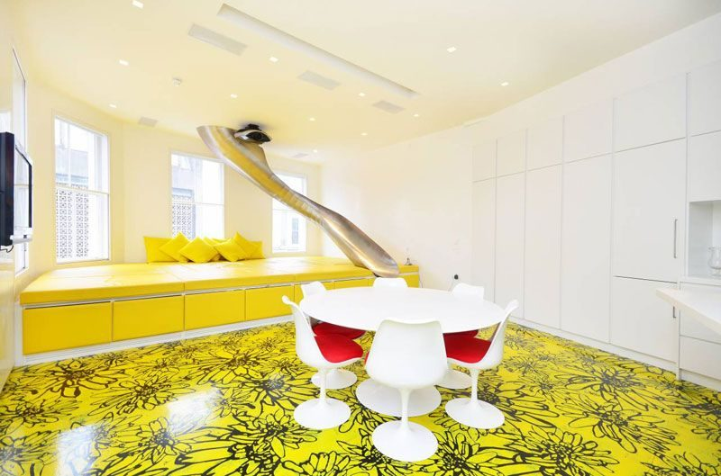 Painted Floors – A Quirky Way Of Adding Color To A Room
