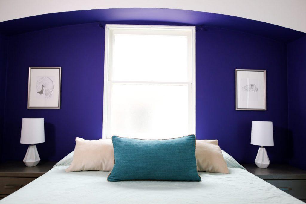 A Blue and Lavender Color Scheme