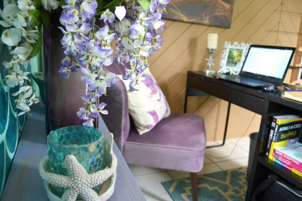 A Lavender Mermaid Home Office