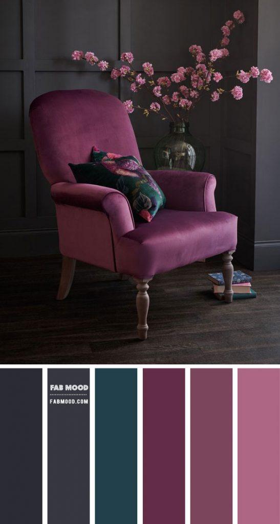 A Statement Lavender Chair