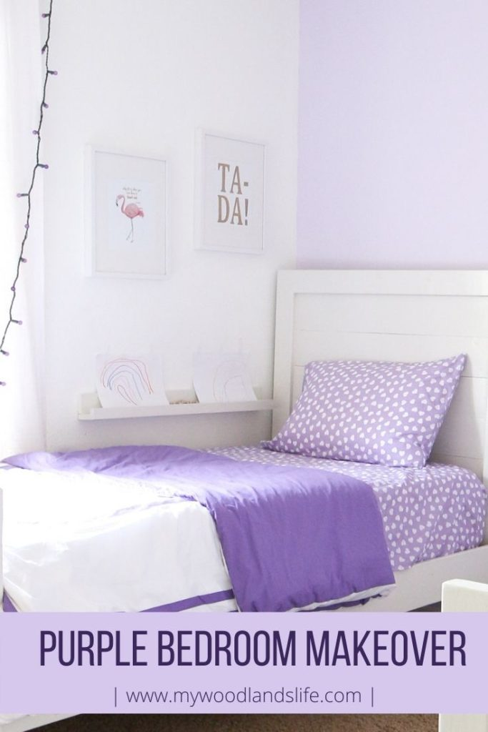A Young Girl's Bedroom Makeover