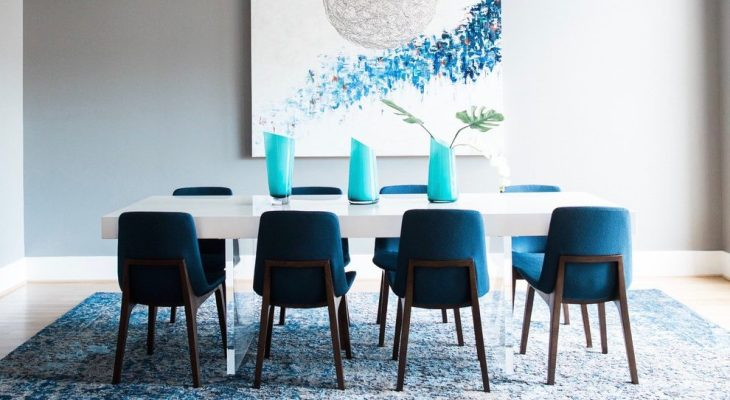 Add Peacock Blue Chairs To Your Dining Room