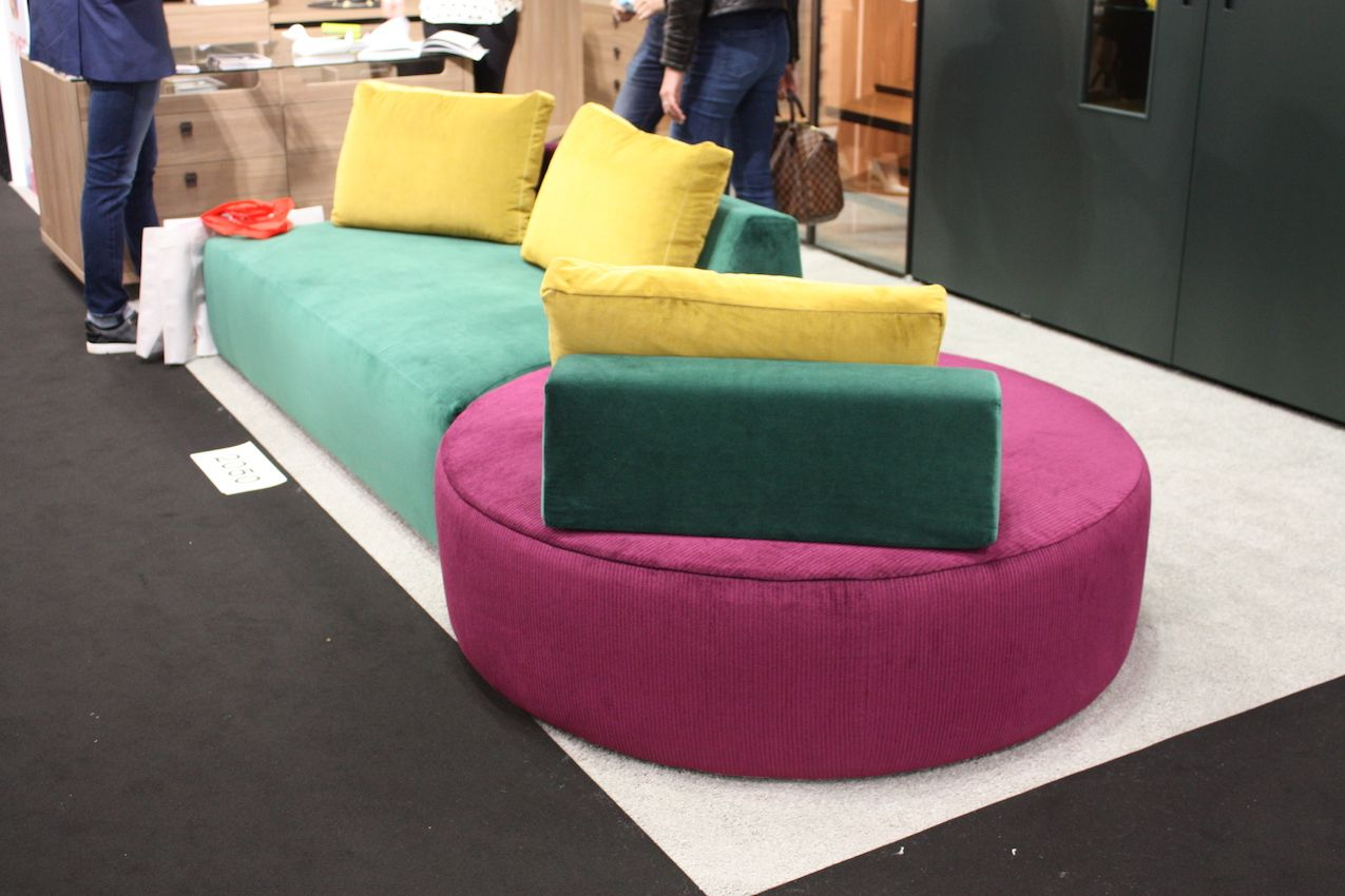 Contemporary and modern designs like this by Anna Gratia are the focus of ICFF.