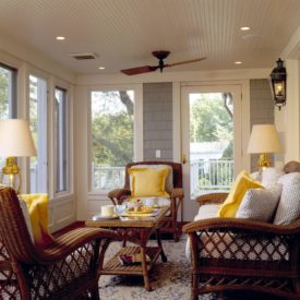 Beadboard ceiling traditional porch