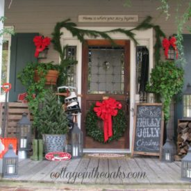 Beautiful Porch decor for Christmas