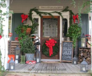 Christmas Porch Decor Ideas That Capture The Charm Of The Holidays