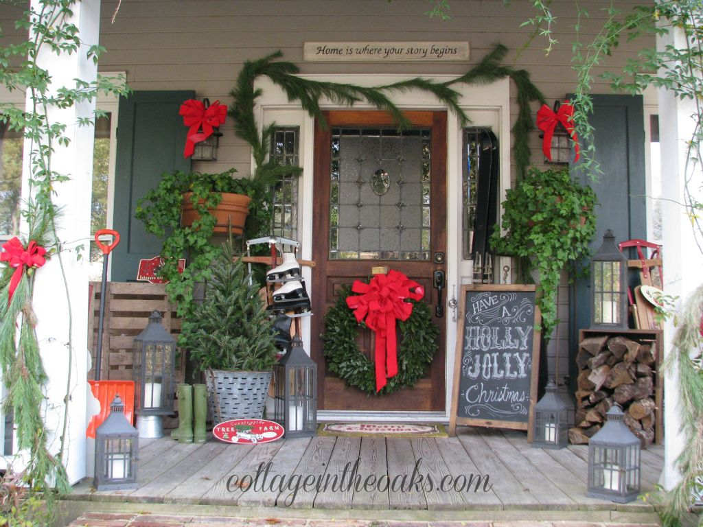 Christmas Porch Decor Ideas That