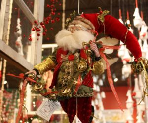 Add Charm to Holiday Decorating with Santa Claus