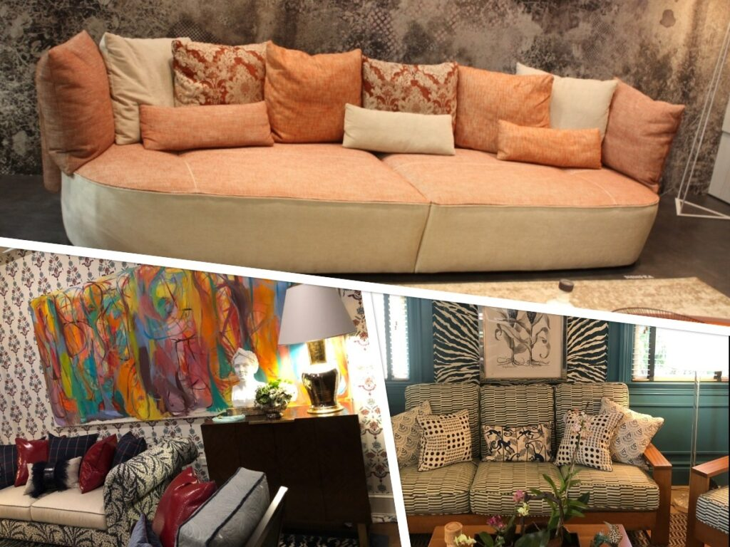 Use the Color of Your Sofa To Set the Mood for Your Room