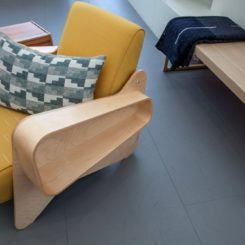 Breuer Armchair With Storage spaces on arms