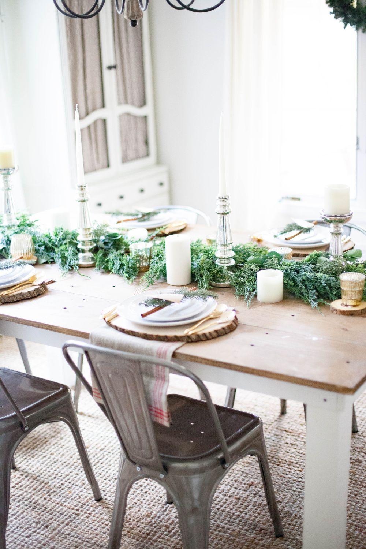 Image of: Farmhouse Christmas Decor Ideas Focused Around Simplicity