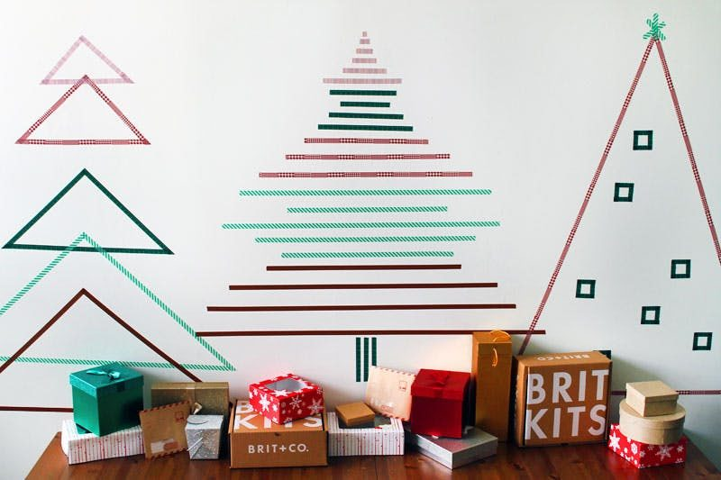 Awesome DIY Christmas Tree Concept With Non-traditional Designs