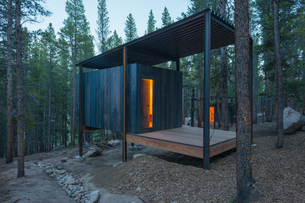 Prefab housing is ideal for a more affordable vacation getaway.