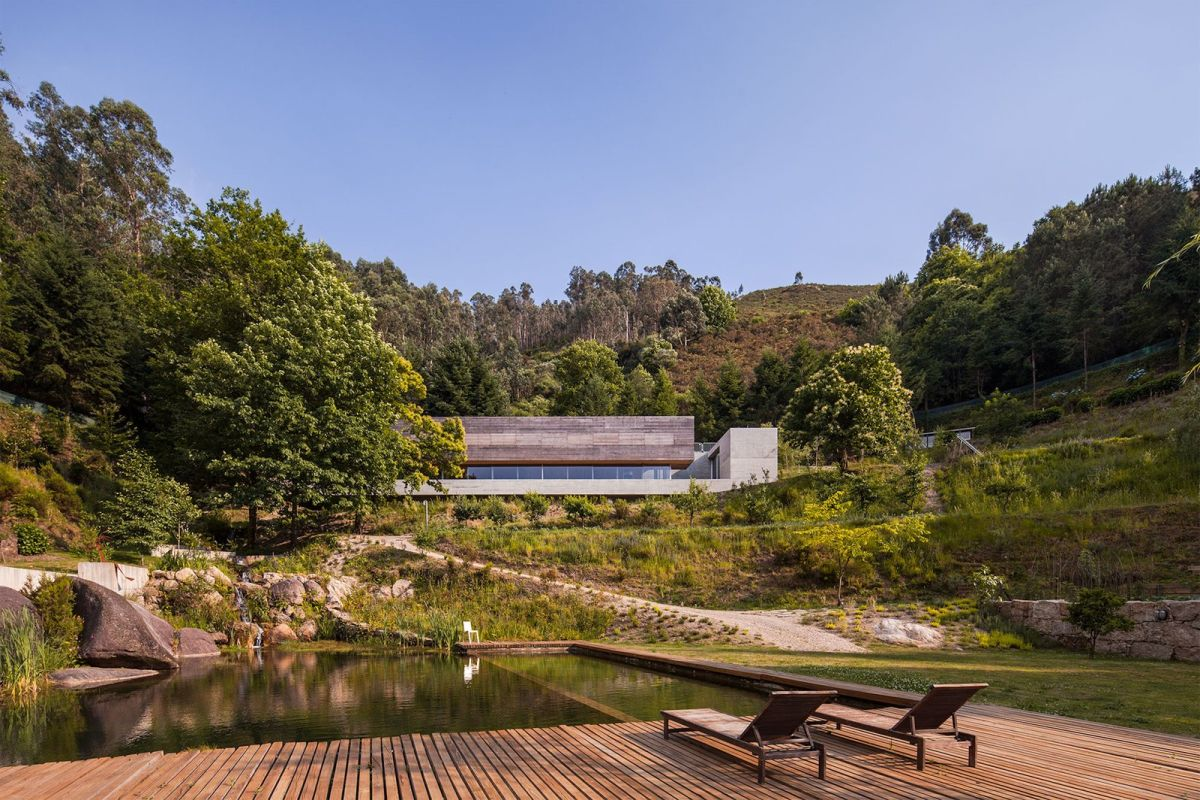 One-of-a-kind Weekend Retreat Embedded Between Two Natural Ponds