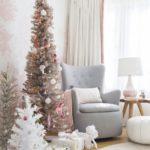 Emily Henderson Blush Rose Gold Christmas
