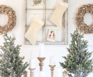 Farmhouse Christmas Decor Concept Focused Around Simplicity